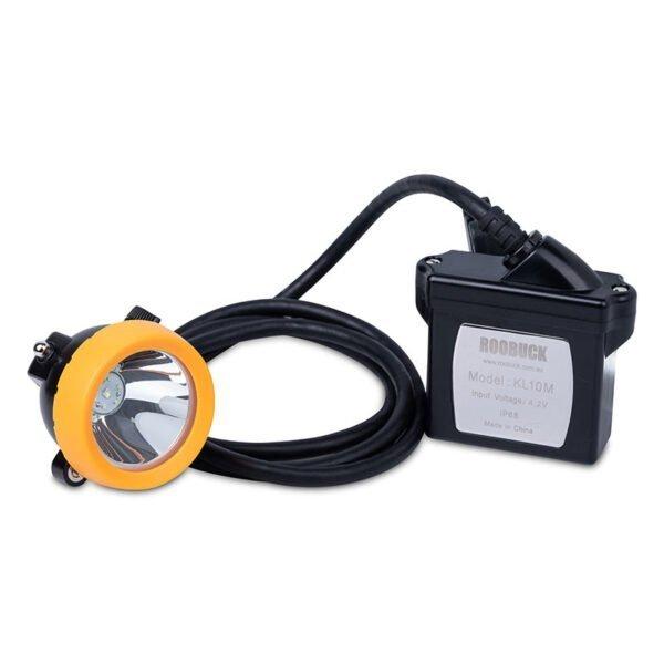 Roobuck corded cap lamp KL10M front