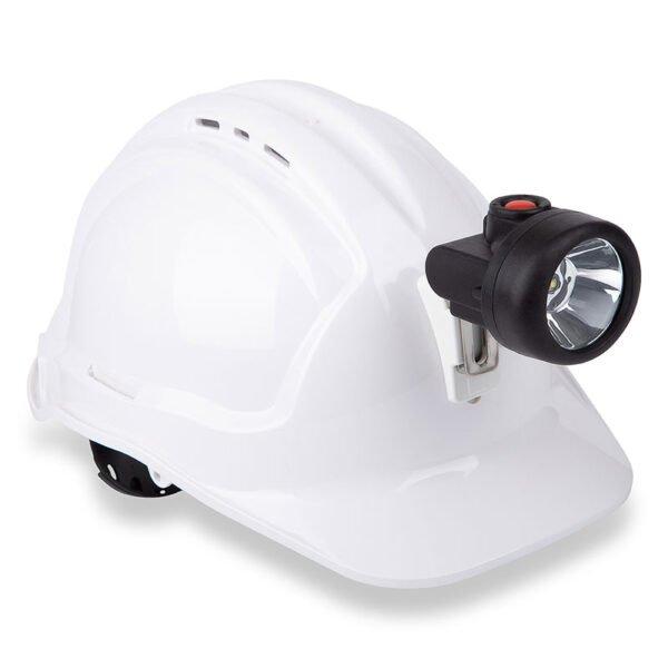 Roobuck cordless cap lamp KH4E & KC4E oncap.jpg
