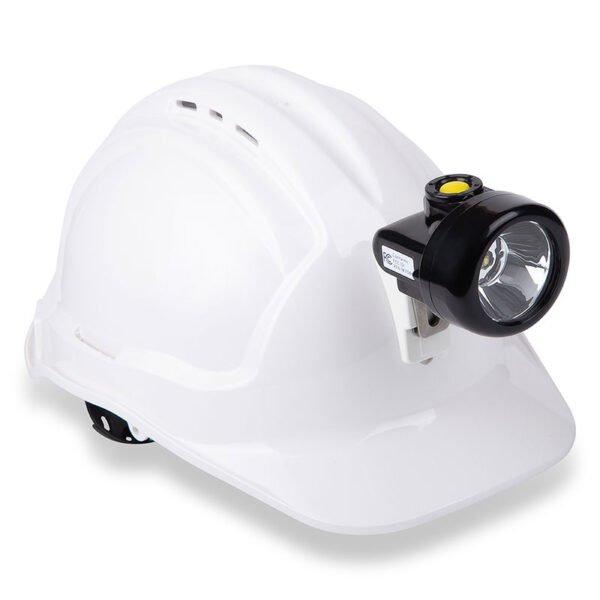 cordless cap lamp RN4EW on cap
